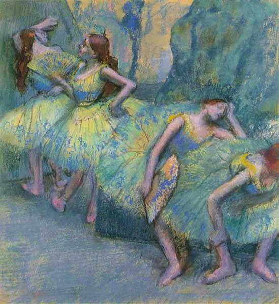 Ballet Dancers in the Wings