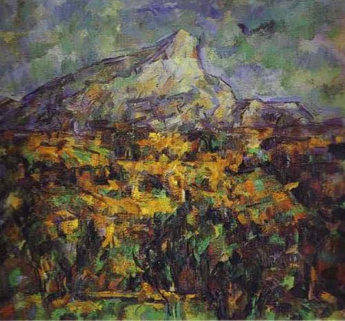 Landscape at Aix (Mount Sainte-Victoire). 1905