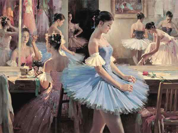 Oil painting for sale:Ballet_15