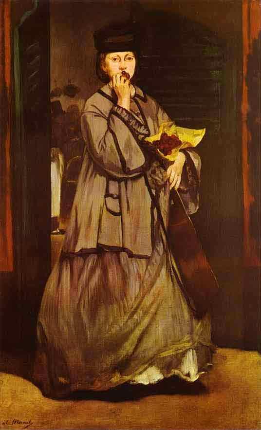 The Street Singer. c.1862