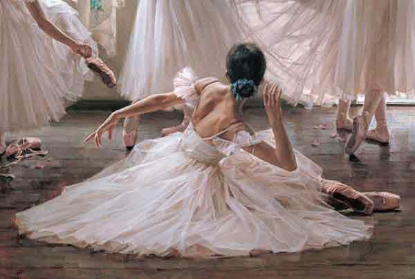 Oil painting for sale:Ballet_6