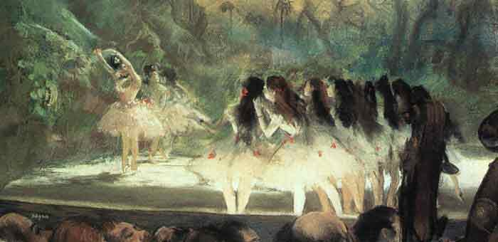 Oil painting for sale:Ballet at the Paris Opera, 1877-1878