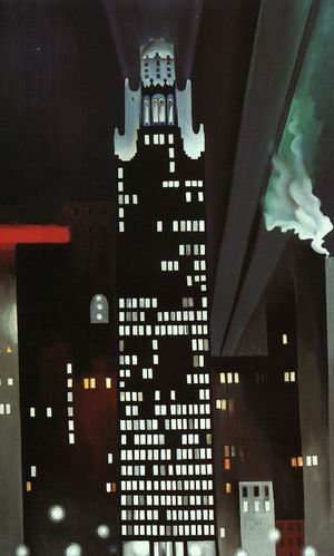 The Radiator Building at Night- New York, 1927