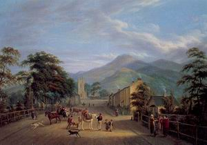View of a Street in Carlingford