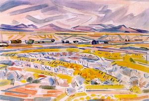 Ranchos de Taos Landscape, 1933
