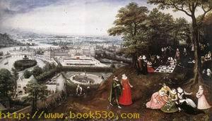 Landscape in Spring 1587