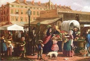 Canal Street Market 1860