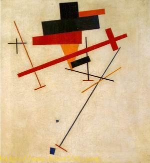 Suprematist Painting 1915-16