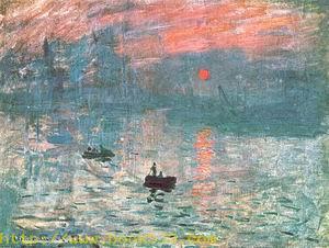 Impression, soleil levant 1873