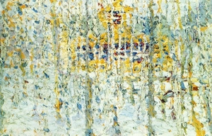 Landscape with Yellow House 1906-1907