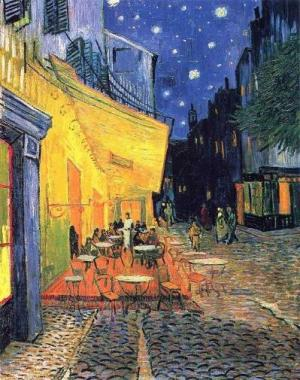 The Cafe Terrace at Night - Vincent van Gogh