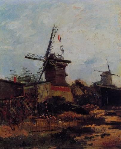 Vincent van Gogh - Le Moulin de Blute-Fin