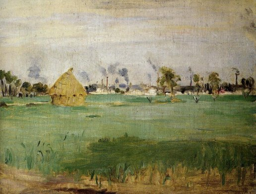 Berthe Morisot - Landscape at Gennevilliers