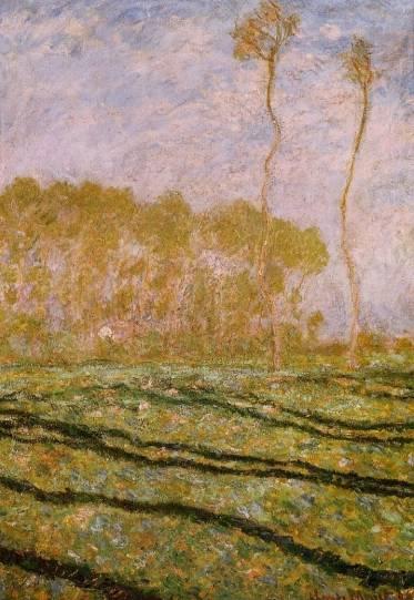 Claude Monet - Springtime Landscape at Giverny