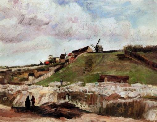Vincent van Gogh - Montmartre - Quarry, the Mills 2
