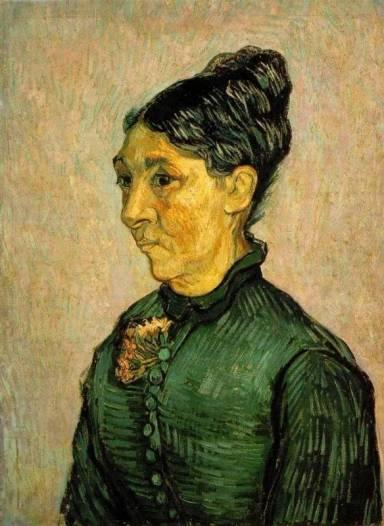 Vincent van Gogh - Portrait of Madame Trabuc