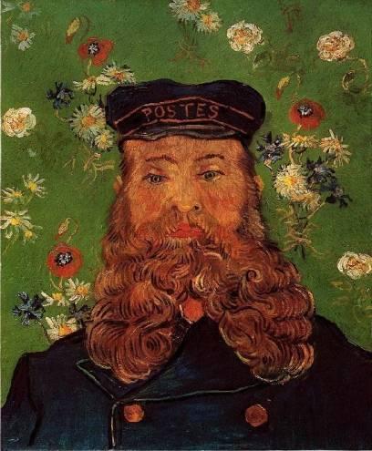 Vincent van Gogh - Portrait of the Postman Joseph Roulin 4