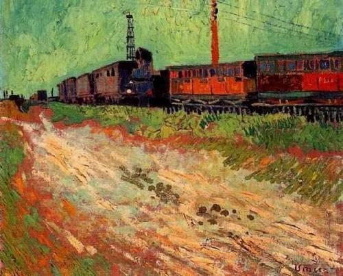 Vincent van Gogh - Railway Carriages