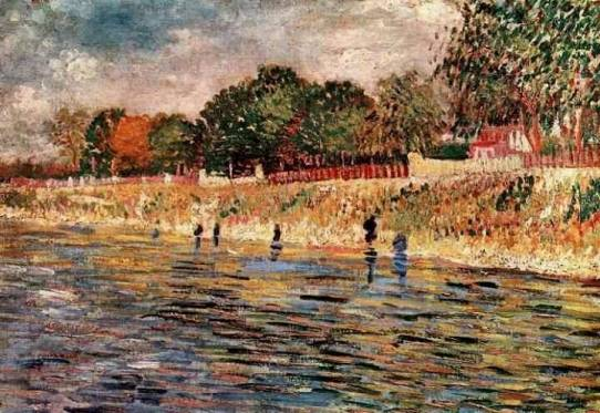 Vincent van Gogh - The Banks of the Seine