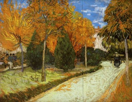 Vincent van Gogh - The Public Park at Arles