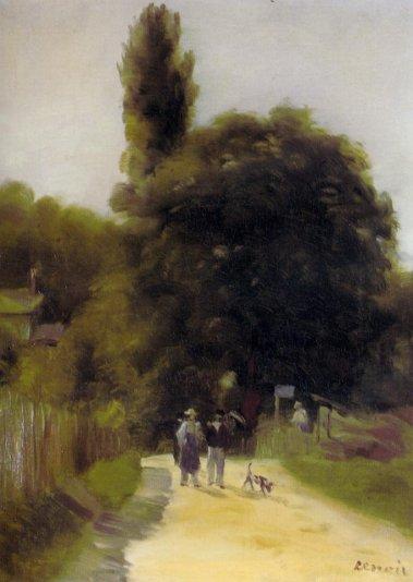 Pierre-Auguste Renoir - Two Figures in a Landscape