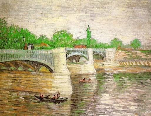 Vincent van Gogh - The Seine with the Pont de Clichy