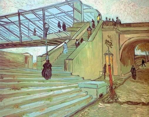 Vincent van Gogh - The Trinquetaille Bridge