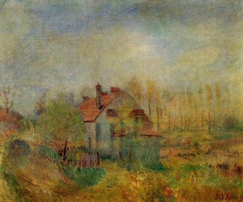 Alfred Sisley - Springtime Landscape
