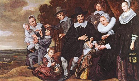 Frans Hals - Family Group in a Landscape 2
