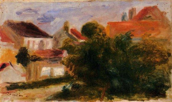 Pierre-Auguste Renoir - Landscape at Essoyes