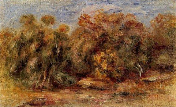 Pierre-Auguste Renoir - Landscape 18