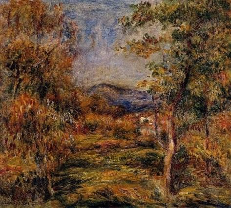 Pierre-Auguste Renoir - Cagnes Landscape 01