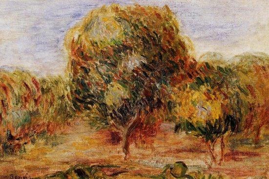 Pierre-Auguste Renoir - Cagnes Landscape 04