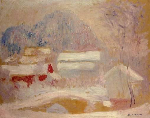 Claude Monet - Norwegian Landscape, Sandviken