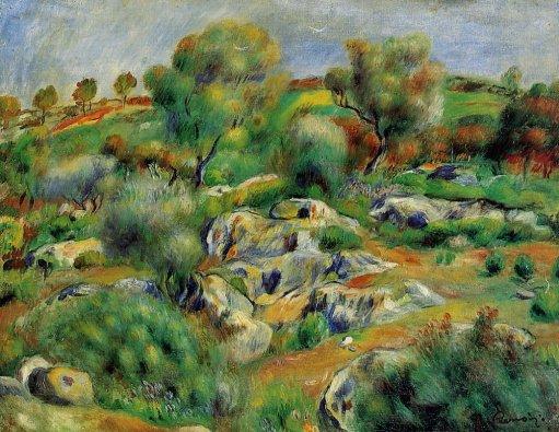 Pierre-Auguste Renoir - Breton Landscape