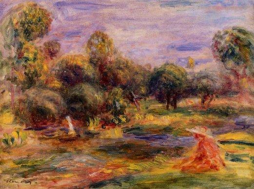 Pierre-Auguste Renoir - Cagnes Landscape 05