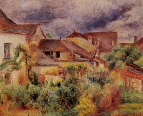 Pierre-Auguste Renoir - Essoyes Landscape
