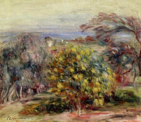 Pierre-Auguste Renoir - Landscape at Collettes