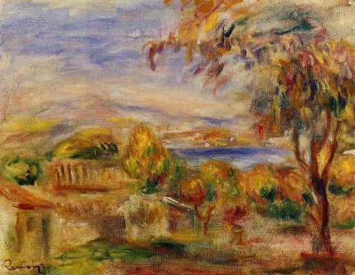 Pierre-Auguste Renoir - Landscape by the Sea