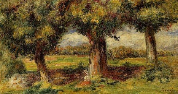 Pierre-Auguste Renoir - Landscape near Pont-Aven