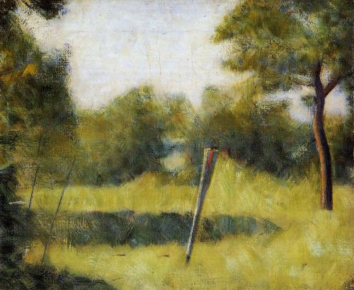The Clearing (Landscape with a Stake)