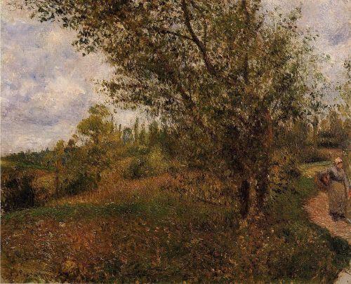 Pontoise Landscape, Through the Fields