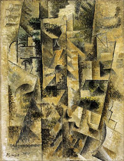 Juan Gris Landscape At Ceret Oil Painting