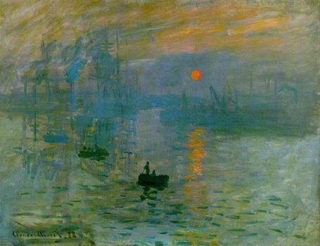 Impression, soleil levant.Impression, Sunrise.1872
