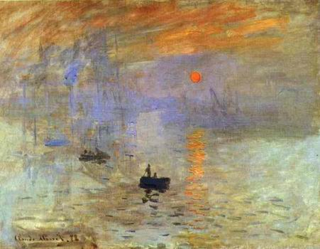 Impression: Sunrise. 1873