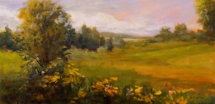 Contemporary Impressionist Landscape