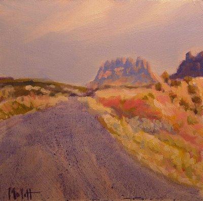 Desert Southwest Landscape Arizona daily painting