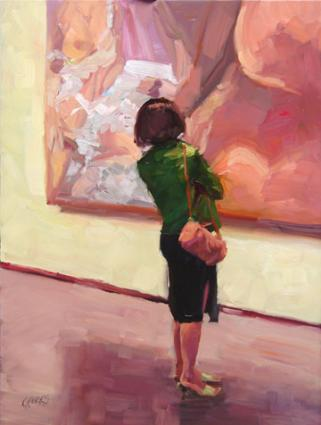 oil paintings online, Modern Woman