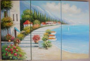 Mediterranean Sea Decoration painting