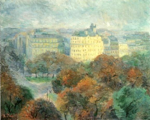 Autumn Landscape, Paris